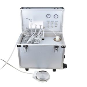 Built-in Air Compressor Classical Style Portable Dental Unit Mpu-I