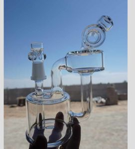 Special Design Hookah Glass Smoking Water Pipe with Recycler Oil Rigs pictures & photos