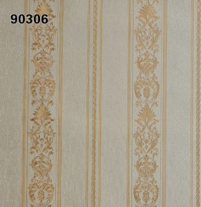 Italy Design Heavy Embossed Wall Paper 90306