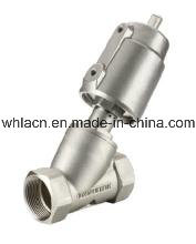 Stainless Steel Pneumatic Angle Seat Solenoid Valve (SS304) pictures & photos