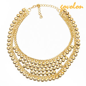 New Fashion Golden Metal Necklace pictures & photos
