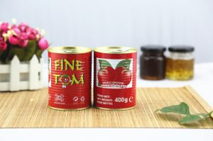 Fine Tom Canned Tomato Paste with High Quality Manufacturer pictures & photos