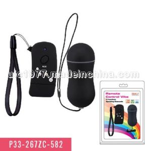 Remote Control Bullet with 5 Functions Sex Product (P33-267ZC-582) pictures & photos