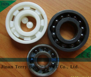 Metal Cage Double Row Angular Contact Ball Bearing Model 3214A