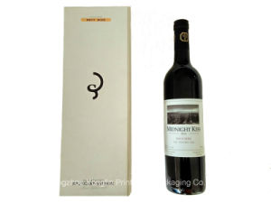 Foldable Wine Rigid Cardboard Paper Gift Box (YL-F209)