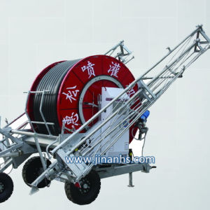 Hose Reel Irrigation System /Big Rain Gun Traveling Irrigator for Sale pictures & photos