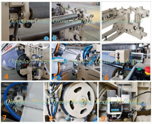 4 Nozzle High Speed Air Jet Loom pictures & photos