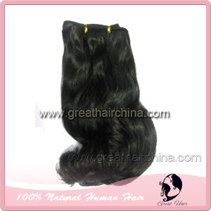 100% Indian Remi Human Hair Weft (GH-HW009)