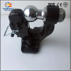 High Quality Regular Black Pintle Tow Hook with Ball pictures & photos