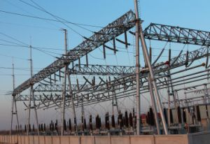High Quality Steel Structure Substation Framework pictures & photos