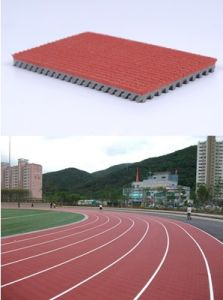 Iaaf Certified Huadongtrack, Synthetic Track Surface, Prefabricated Rubber Running Track Surface