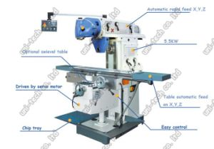 Xl6436 Universal Swivel Head Milling Machine pictures & photos