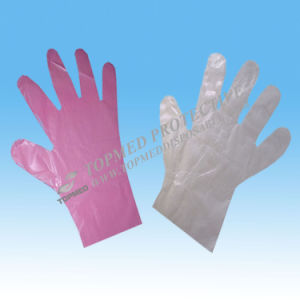 Disposable LDPE Gloves, Plastic Gloves pictures & photos