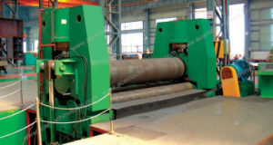 3 Roller Plate Curving Coiling Rolling Bending Machine pictures & photos