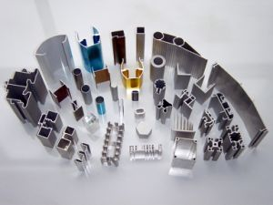 Aluminium Extrusion Customized Design Section Full Finished