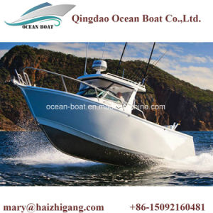 6.25m Aluminum Alloy Center Console Deep V Bottom Fishing Boat for Marine Fishing