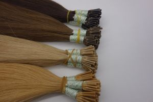 Cheap I Tip Pre Bonded Human Hair Extensions pictures & photos