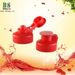 28/400 Plastic Flip Top Cap for Cosmetic Bottle pictures & photos