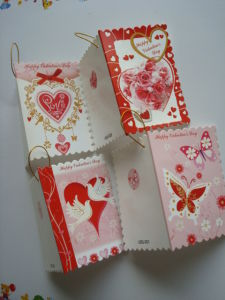 New Design Promotion Valentines′ Mini Card