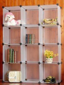 Plastic Pp Cube Storage Shelf