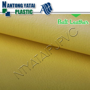 Popular Chinese PU Synthetic Leather for Balls
