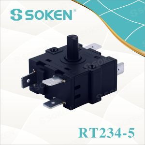 Nylon Rotary Switch with 4 Positions (RT234-5) pictures & photos
