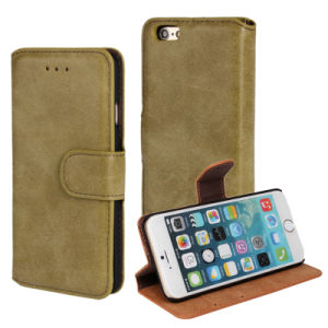 Wallet Flip Card PU Cell Leather Phone Cover Case for iPhone 6