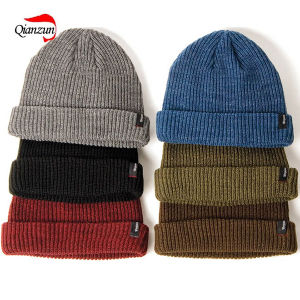 Acrylic Beanie Caps Winter Hats pictures & photos
