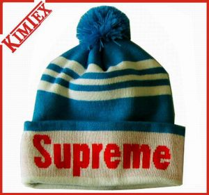 100% Acrylic Winter Knitted Jacquard Hat pictures & photos