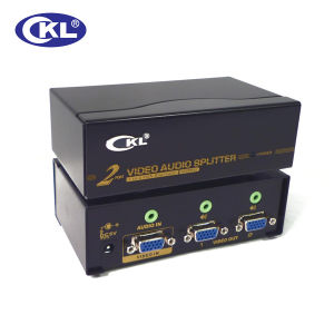 450MHz 2 Port VGA Splitter with Audio