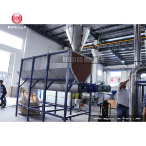 PP PE Film Flakes Friction Washing Machine Recycling Line pictures & photos