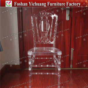 Yc As76 Used Hotel Furniture Wedding Transparent Plastic Polycarbonate Chair