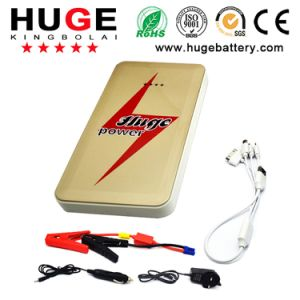 Rechargeable Car Battery jump Starter with Li-Polymer Battery pictures & photos