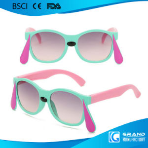 818371dd520 Fashion Wholesale Cheap Big Ear Coating Cute Safety Kids Sunglasses Cj6151  in Stock