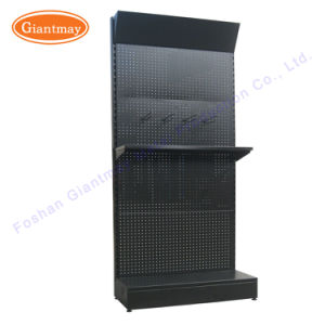 Triangle Header Metal Storage Hardware Store Hanging Shelves Display Power  Tool Rack