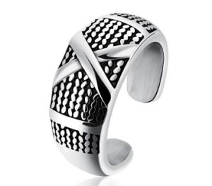 New Us Size 7 11 Punk Rock Stainless Steel Mens Biker Rings Vintage Gothic Jewelry