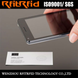 custom printing writable rfid nfc business card for nfc phone - Nfc Business Cards