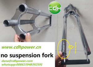 Non Suspension Fork with Disc Brake Bracket pictures & photos