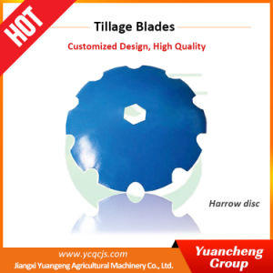 Yuancheng Agricultural Machinery Parts Notched Harrow Disc
