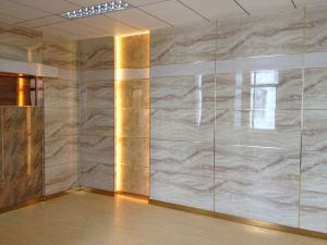China Cladding Panel Art Decoration White Marble Wall