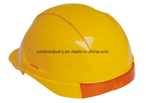 Safety Helmet with Rear PC Reflective Part Ntc-2 pictures & photos