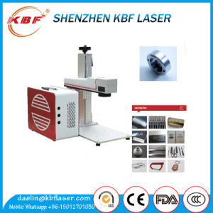 Mopa Fiber Laser Marker Machine for Alumina Balck Marking pictures & photos