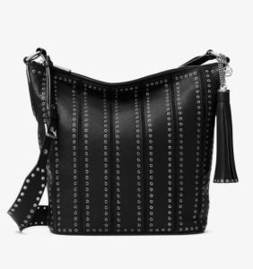2017 New Studded Special Bucket Hand Bag Tassel Tote Large Bag Hcy-5046