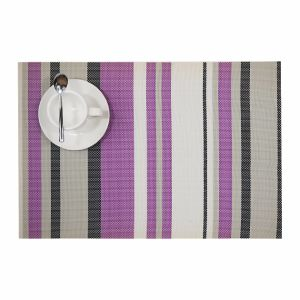 Stripes Tabletop PVC Placemat for Home & Restaurant