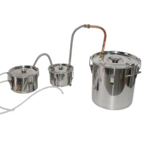 10L/3gal All Capped Double Box Home Use Alcohol Distiller