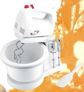 5 Speeds for 100W Hnad Mixer with Bowl