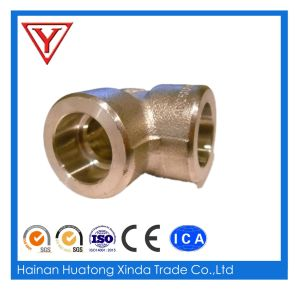 Iron High Pressure Socket Weld End Elbow pictures & photos