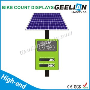 Solar Powered LED Solar Traffic Sign / Yellow Road Signs