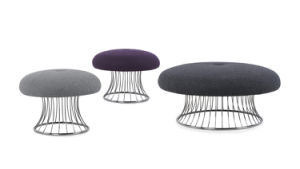 Fabulous New Design Office Stool Office Ottoman With Round Metal Leg Caraccident5 Cool Chair Designs And Ideas Caraccident5Info