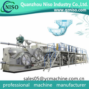 Full Servo I Shape Adult Diaper/Adult Incontinence Product Making Machine pictures & photos